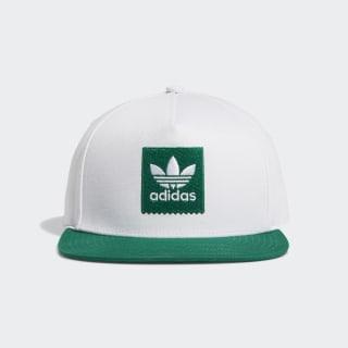 Gorra Two-Tone Trefoil Snapback White / Bold Green EC6485