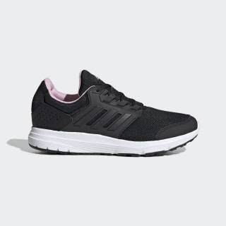 Galaxy 4 Shoes Core Black / Core Black / True Pink F36183