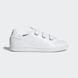 Stan Smith Schuh Cloud White / Cloud White / Gold Metallic S75188