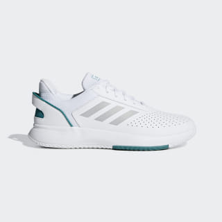 Zapatillas Courtsmash ftwr white / grey two f17 / active green F36715