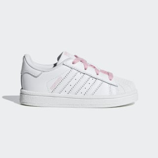Zapatilla Superstar Ftwr White / Ftwr White / Light Pink CG6641