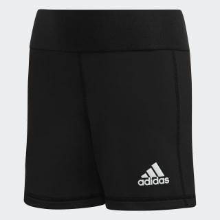 Alphaskin Volleyball 4-Inch Short Tights Black / White FK1000