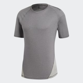 Alphaskin Sport Heather T-Shirt Dark Grey Heather / Grey Four CF7259