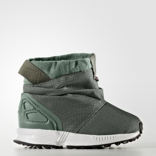 Сапоги ZX Flux st major f13 / trace green s17 / ftwr white BY9065