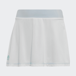 Girls Parley Skirt White / Easy Blue DU2473