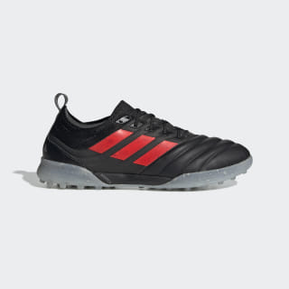 Zapatos de Fútbol Copa 19.1 Césped Artificial Core Black / Hi-Res Red / Silver Metallic F35510