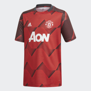Maillot d'échauffement Manchester United Collegiate Red / Solid Grey EI9871
