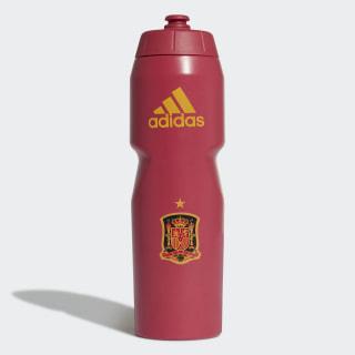 Spanien Trinkflasche Victory Red / Semi Solar Gold FJ0815
