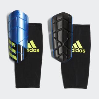 Protège-tibias X Pro Football Blue / Black / Solar Yellow CW9712