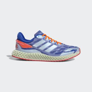 adidas 4D Run 1.0 Shoes Glory Blue / Cloud White / Solar Red FW1231