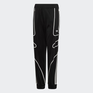 Flamestrike Track Pants Black / White DW3861
