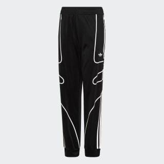 Pantalón de buzo Flamestrike Black / White DW3861
