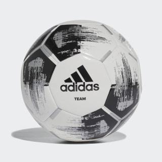 Balón Team Capitano white / black / silver met. CZ2230
