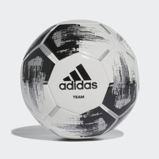 Pelota Team Capitano White / Black / Silver Metallic CZ2230