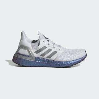 Zapatilla Ultraboost 20 Dash Grey / Grey Three / Boost Blue Violet Met. EG1369