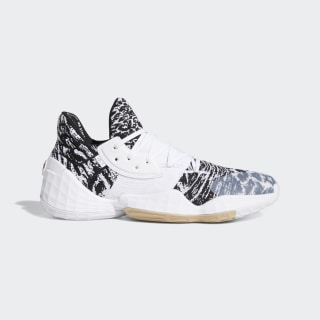 Tênis Harden Vol. 4 Cloud White / Core Black / Pale Nude EF1260