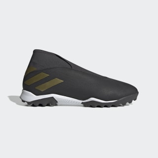 Chaussure Nemeziz 19.3 Turf Core Black / Gold Met. / Utility Black EF0386