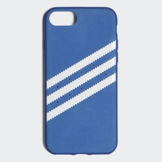 Coque moulée iPhone 8 Suede Collegiate Royal / White CJ1249