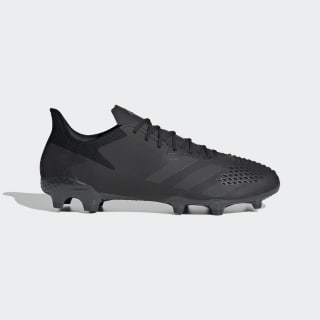 Predator 20.2 Firm Ground Voetbalschoenen Core Black / Core Black / Solid Grey EF1630