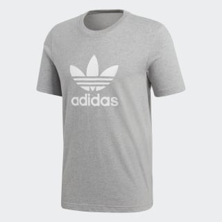 Trefoil T-Shirt Medium Grey Heather CY4574