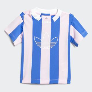 Playera Stripes True Pink / Blue DV2839