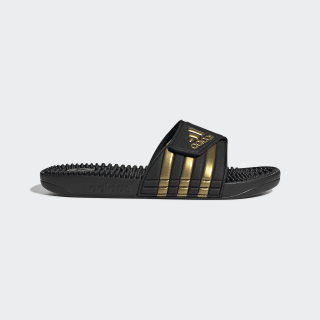 Adissage Slides Core Black / Gold Metallic / Core Black EG6517