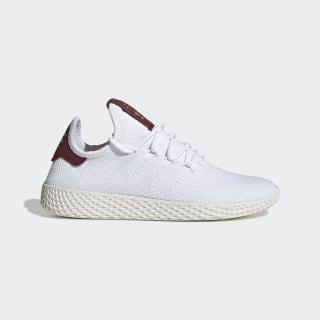 Zapatillas Pharrell Williams Tennis Hu Cloud White / Cloud White / Collegiate Burgundy D96443
