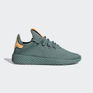 Pharrell Williams Tennis Hu Shoes Raw Green / Raw Green / Off White B37078