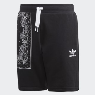 Bandana Shorts Black / White DW3837