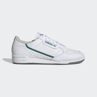 Tênis Continental 80 Cloud White / Glory Green / Collegiate Green EF5990