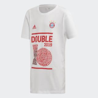 T-shirt Cup do FC Bayern München White GE5480