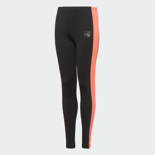 TIGHTS (1/1) J EQT LEGGINGS BLACK/TURBO D98897