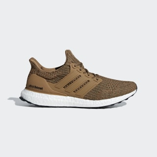 Ultraboost Shoes Raw Desert / Raw Desert / Base Green CM8118