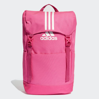 3-Stripes Backpack shock pink / white / white DM7792