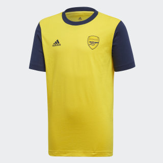 Arsenal Graphic T-Shirt Eqt Yellow / Collegiate Navy FI7011