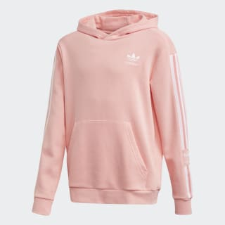 Polera con capucha Glow Pink / White FM5688