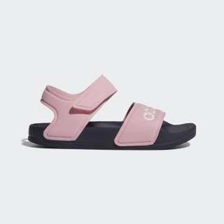 Sandalias Adilette True Pink / Cloud White / Trace Blue G26876