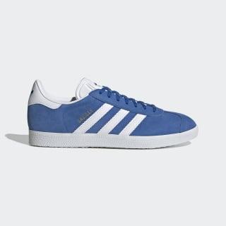 Sapatos Gazelle Blue / Cloud White / Gold Metallic EF5600