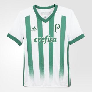 Camisa Palmeiras 2 Infantil WHITE/BOLD GREEN BK7511