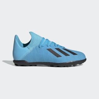 X 19.3 Turf Shoes Bright Cyan / Core Black / Shock Pink F35357