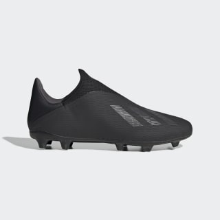 X 19.3 Firm Ground Cleats Core Black / Utility Black / Silver Metallic EF0599