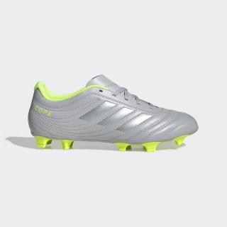Botines Copa 20.4 Terreno Firme Grey Two / Matte Silver / Solar Yellow EF8348