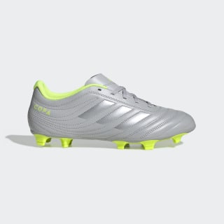 Copa 20.4 Firm Ground Boots Grey Two / Matte Silver / Solar Yellow EF8348