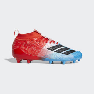Adizero 8.0 Cleats Shock Cyan / Core Black / Active Red F35080