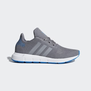 Zapatillas SWIFT RUN J GREY THREE F17/GREY THREE F17/BRIGHT BLUE B22455