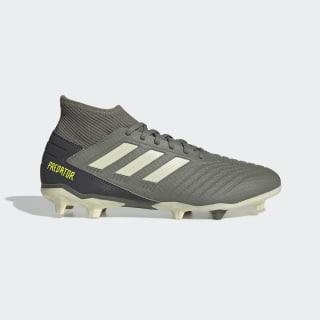 Calzado de Fútbol Predator 19.3 Terreno Firme Legacy Green / Sand / Solar Yellow EF8208