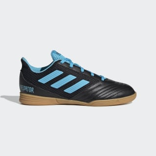 Calzado de Fútbol Predator 19.4 Futsal Core Black / Bright Cyan / Solar Yellow G25830