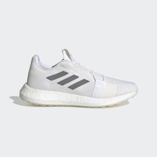 Zapatillas para correr Senseboost GO Cloud White / Grey Three / Chalk White EG0944