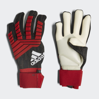 Guantes Predator Pro BLACK/RED/WHITE CW5589