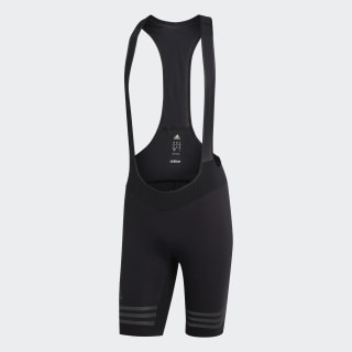 adistar Engineered Woven Bib Shorts för cykling Black / Black Reflective AZ4761
